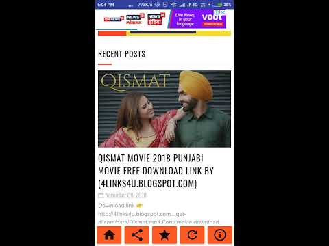 How to Download Qismat Panjabi movie in full HD