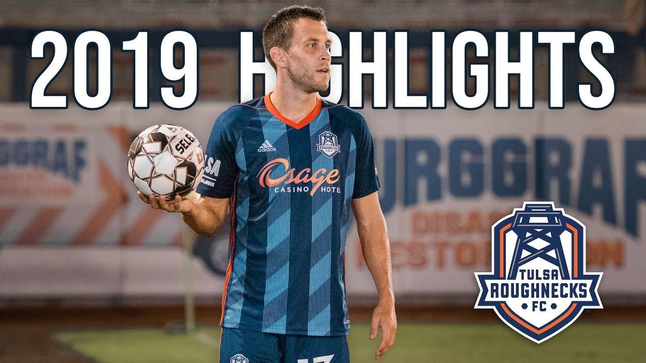 Matt Sheldon 2019 Season Highlights   Tulsa Roughnecks FC