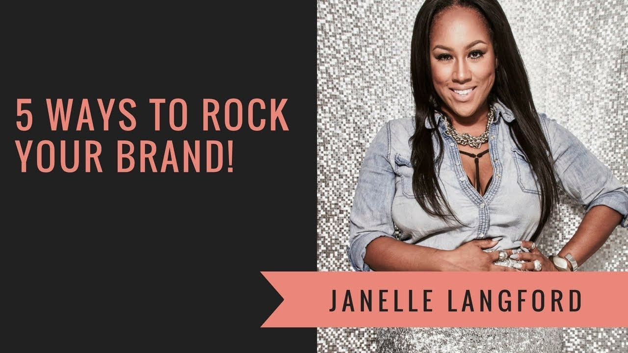 Support is Sexy Mastermind Workshop: Janelle Langford - How to Rock Your Brand