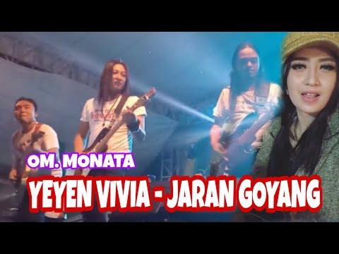 [LIVE MAGETAN] OM. MONATA - YEYEN VIVIA [COVER] JARAN GOYANG | MALAM PUNCAK MRSF 2019 POLRES MAGETAN