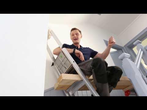 Préparer une cage d'escalier avant des travaux