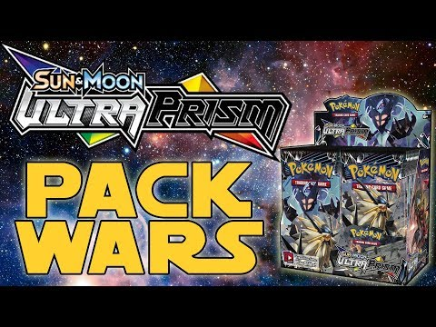 PACK WARS!!! Pokemon Ultra Prism Double Booster Box Opening!