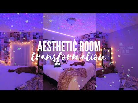 Aesthetic Bedroom Transformation Tiktok Pinterest Inspired Youtube