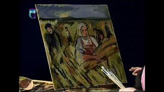 Уроки рисования (№ 119) пастелью и масляными красками. Рисуем человека в движении