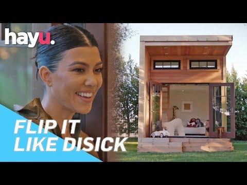 Scott Disick Makes Mini 'Mansion' For Kids, Mason, Penelope & Reign | Season 1 | Flip It Like Disick