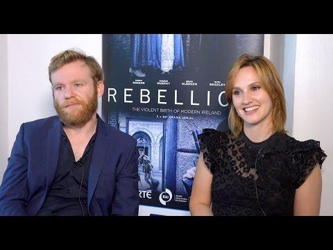 Rebellion's Brian Gleeson & Ruth Bradley