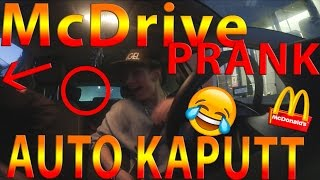 McDonalds Prank #5 | AUTO KAPUTT Fail | Angel