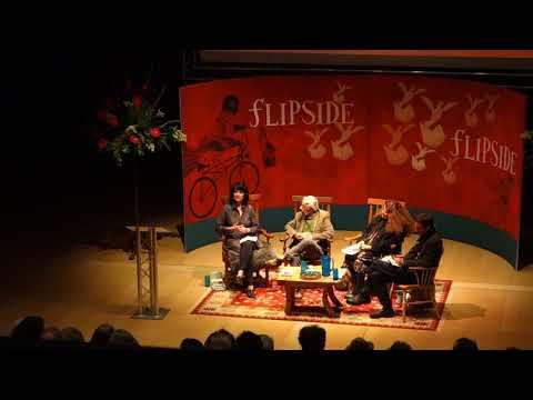 Ruth Padel at FlipSide Festival 2017
