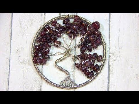 Кулон дерево жизни своими руками мастер класс