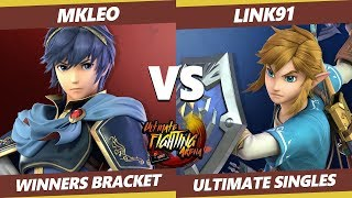 UFA 2019 SSBU - FOX | MkLeo (Marth) Vs. Link91 (Link) Smash Ultimate Tournament Winners Qualifier