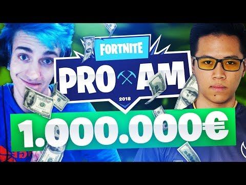 LE TOP 1 À *1 MILLION DE DOLLARS* 💰 - FORTNITE E3 PRO-AM TOURNAMENT - CHARITY GAME