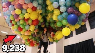 How Many Balloons Does It Take To Float?