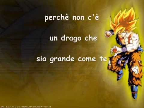 Dragon Ball Z - sigla completa - testo nel video!!!