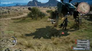 Final Fantasy XV Sword of the Father Royal Arm Gameplay