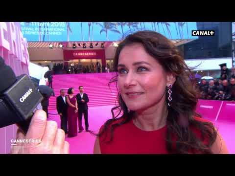 Sidse Babett Knudsen, marraine de Cannes Série  Cérémonie de clôture 2018