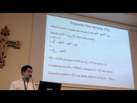 ICAPS 2013: Aldo Porco - Automatic Reductions from PH into STRIPS or How to Generate ...