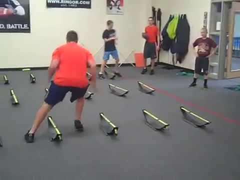 Frank DelConte  Class 2013 SPARQ Football Training