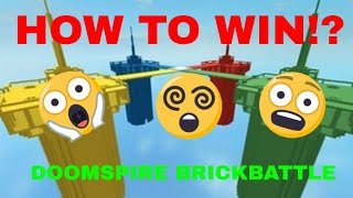 Roblox - Doomspire Brickbattle Tips and Tricks