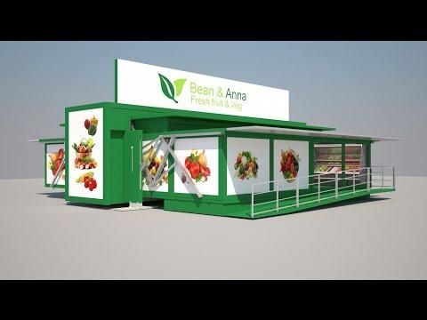 TEN FOLD - Mobile supermarket