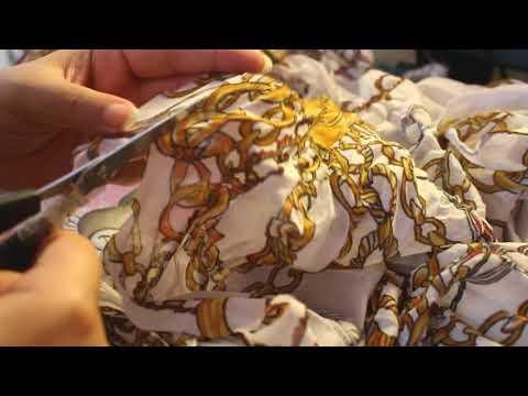 [ASMR] Let's Cut Fabrics! Découpons du Tissu! (no talking)