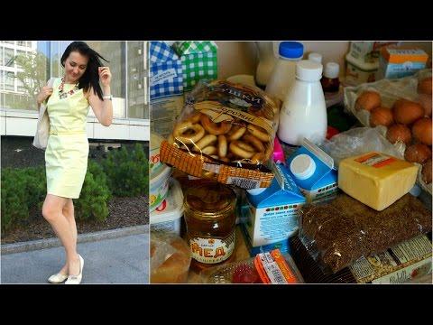 Расписание еды для похудения на неделю