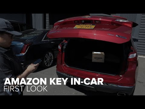Amazon Key In-Car delivers right to your car's trunk