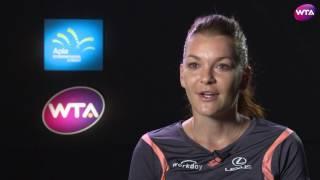My Performance | Aga Radwanska Defeats Barbora Strycova | 2017 Apia International Sydney Semifinals
