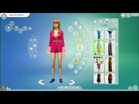 Re-creating Taylor Swift In The Sims! - My Celeb World #2