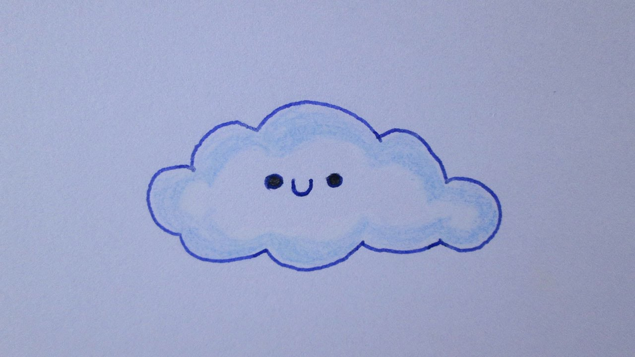 como desenhar uma nuvem youtube
