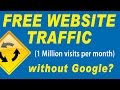 Free Website Traffic – How to Get 1 Million Visitor Per Month