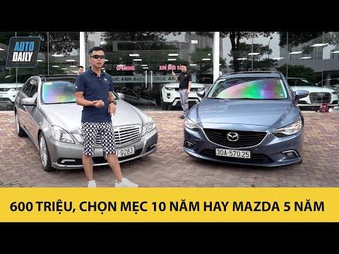 600 triệu, chọn Mercedes E300 10 năm hay Mazda6 5 năm? |Autodaily.vn|