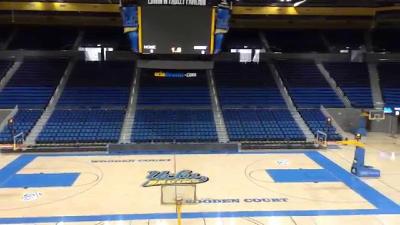 UCLA Basketball Arena - YouTube