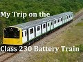 My Trip on the Class 230 Battery Train