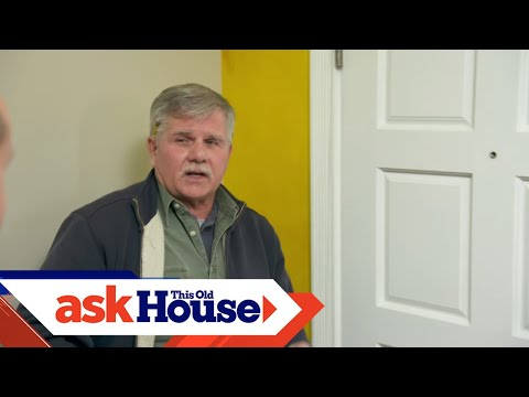 How To Tightly Fit An Antique Door | Ask This Old House