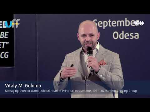 #UkrFinForum18 -- Vitaly M. Golomb keynote speech at the venture capital industry panel