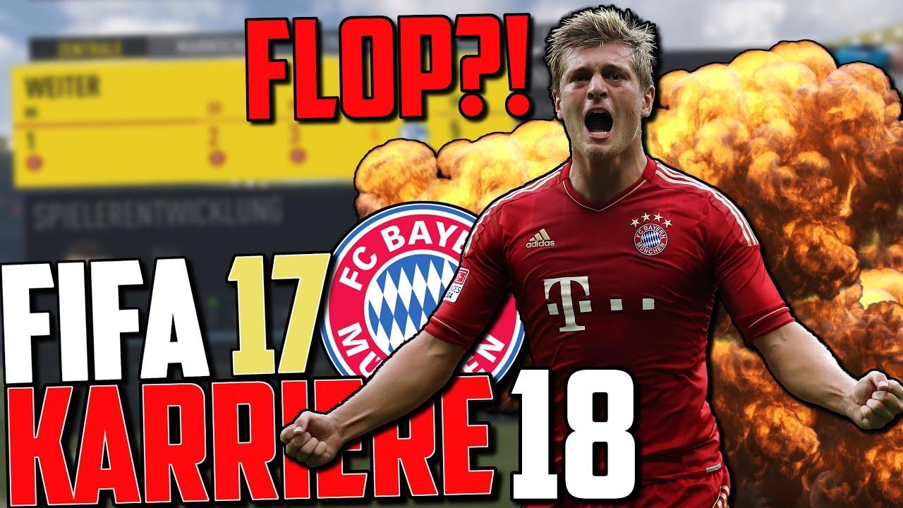 KROOS DEBÜT ! TRANSFER FLOP?   FIFA 17 Karrieremodus Fc ...