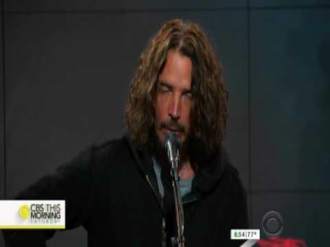 Chris Cornell performs Black Hole Sun on CBS This Morning 04.22.2017