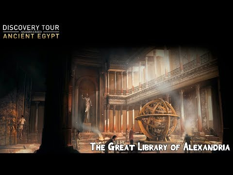 Assassins Creed Origins Discovery Tour - Great Library of Alexandria [Episode 7]