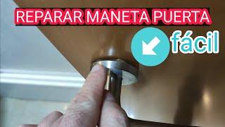 REPARAR MANETA PUERTA. How yo repair a faulty Broken Door handle Latch🔨