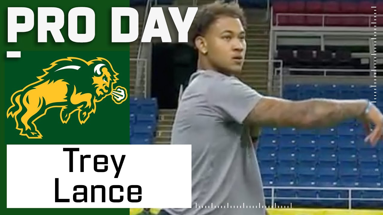 Download Trey Lance FULL Pro Day Highlights: Every Throw