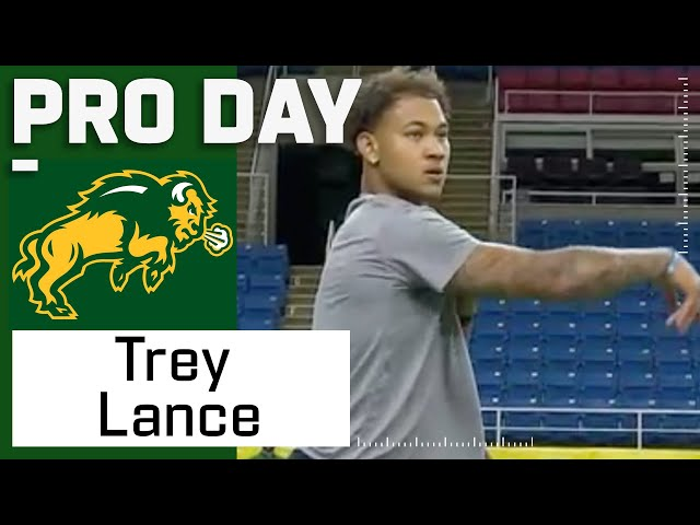 Trey Lance FULL Pro Day Highlights: Every Throw