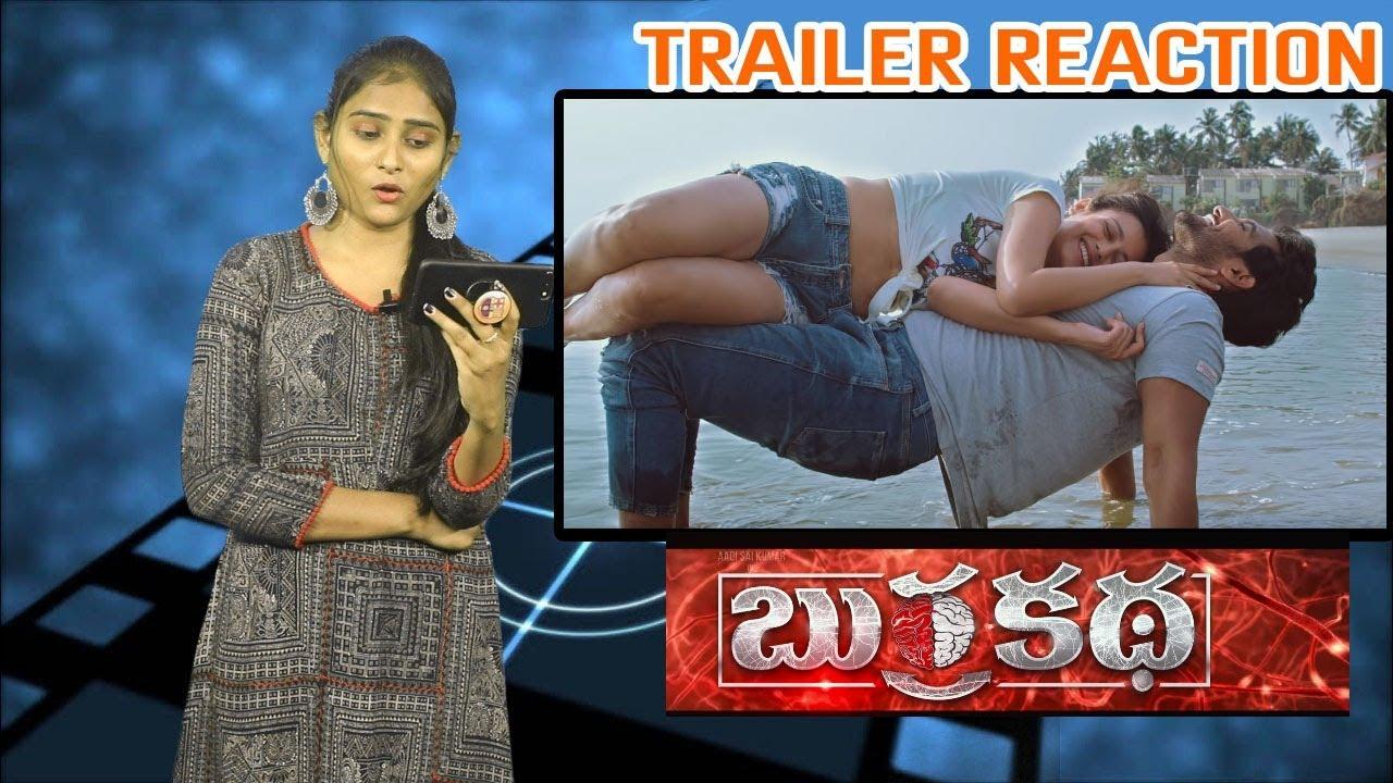 Download Burra Katha Theatrical Trailer Reaction   Aadi, Mishti Chakraborthy, Naira Shah   Diamond Ratnababu