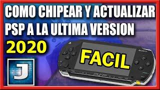 CHIPEAR Y ACTUALIZAR PSP - ULTIMA VERSIÓN 6.61 (2018)