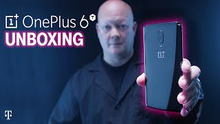 EXCLUSIVE OnePlus 6T Unboxing with Des | Only at T-Mobile