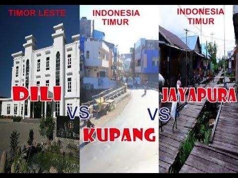 Dili City (Timor Leste) Vs Kupang City (NTT) Vs  Jayapura City (Papua).....Waw!!!!!!