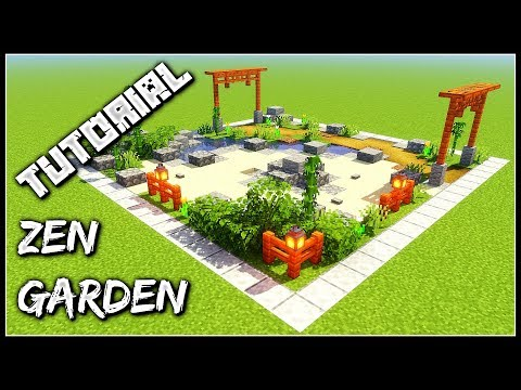 How To Build A Zen Garden | Minecraft Tutorial