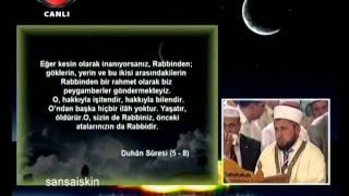İSHAK DANIŞ REGAİP KANDİLİ 2011 SELİMİYE CAMİİ KUR'AN-I KERİM