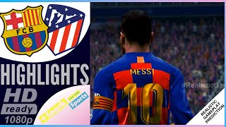 Barcelona vs Atletico Madrid 2-3 | Resumen | Highlights 09/01/2020