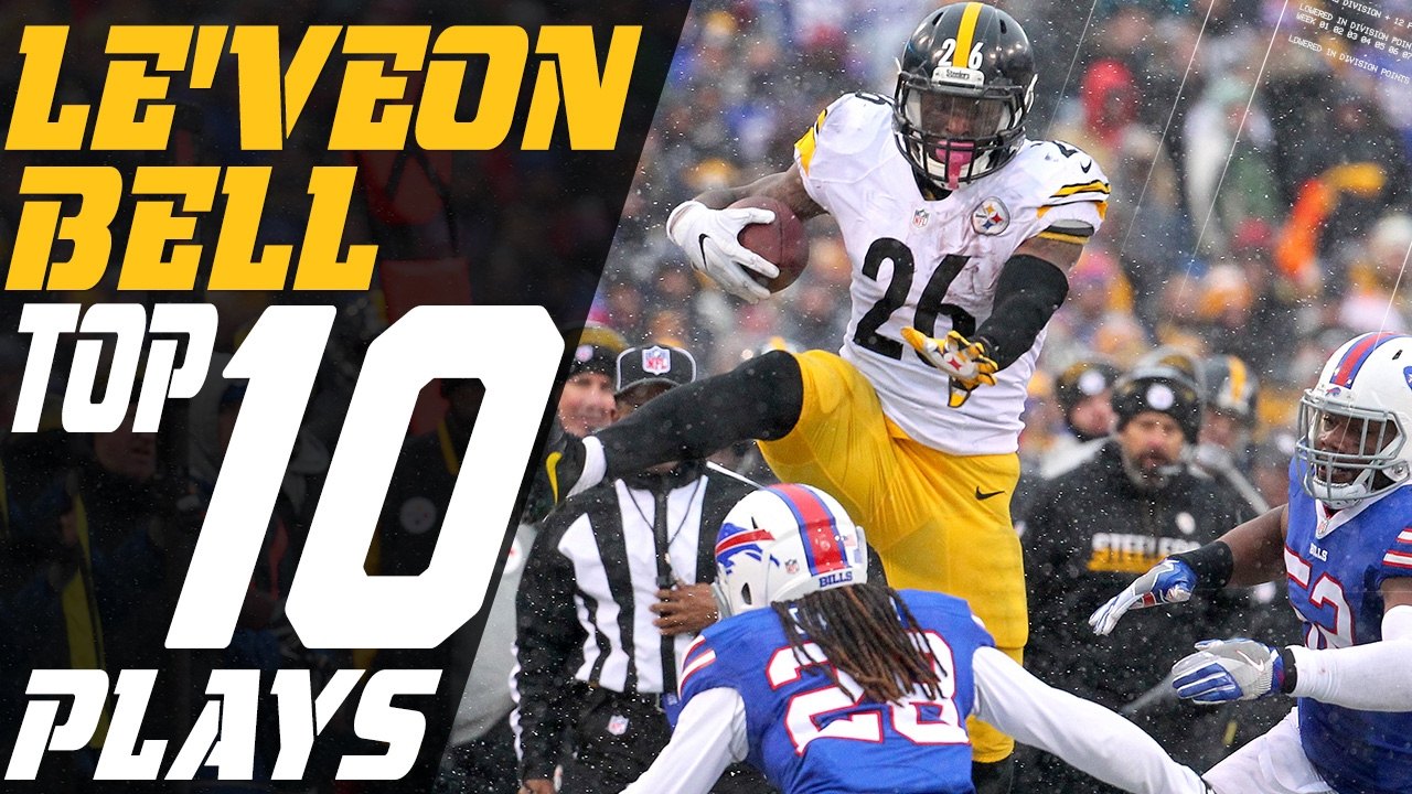 ca494c36761 Le Veon Bell s Top 10 Plays of the 2016 Season