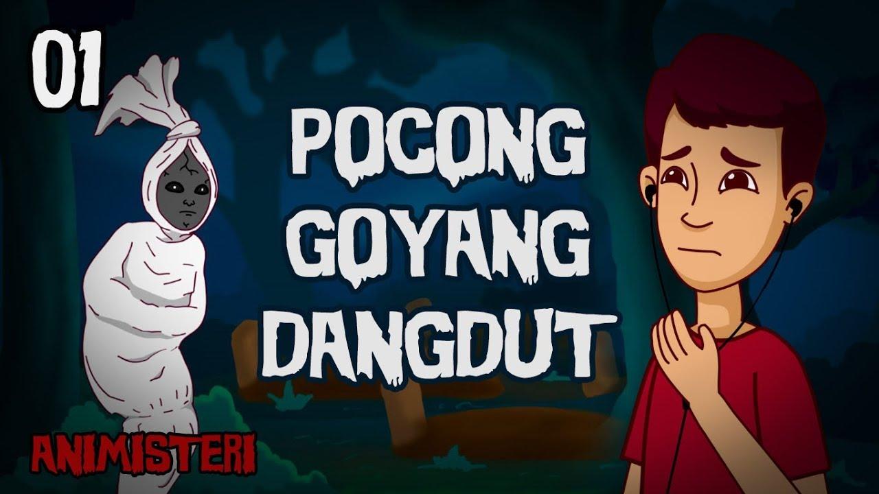 Animisteri 01 Pocong Goyang Dangdut Jaran Goyang Kartun Lucu Horor Kartun Hantu